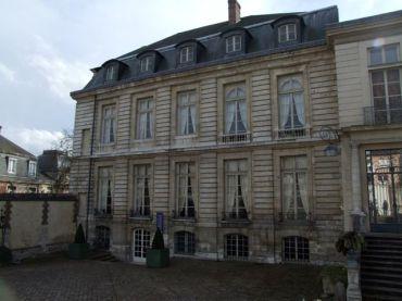 Entrée musée de la céramique, Rouen
